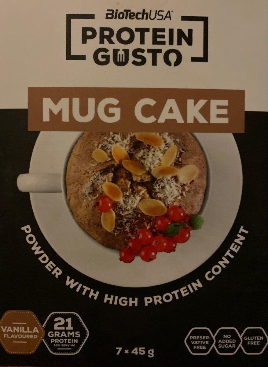 Protein mug cake - Nährwertangaben