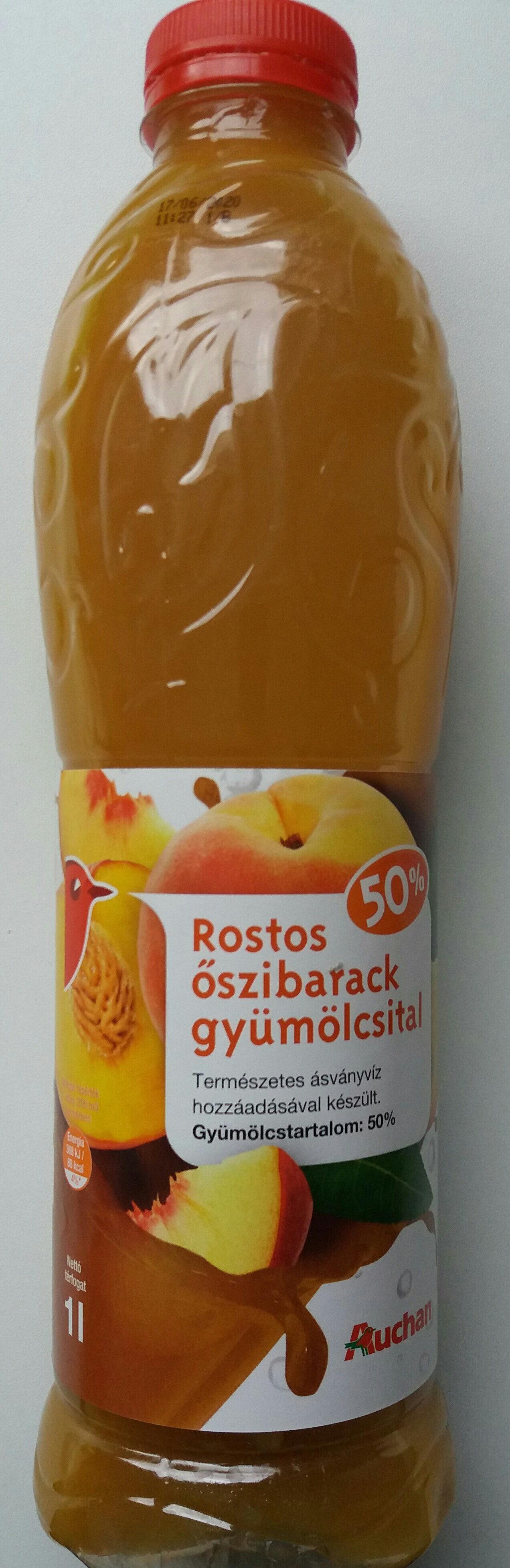 Rostos őszibarack gyümölcsital - Prodotto - hu