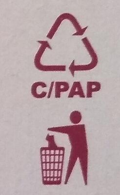 Camembert, fokhagymás - Instruction de recyclage et/ou informations d'emballage - hu