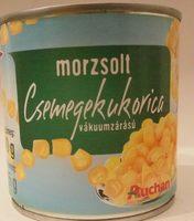 Morzsolt csemegekukorica - Produit - hu