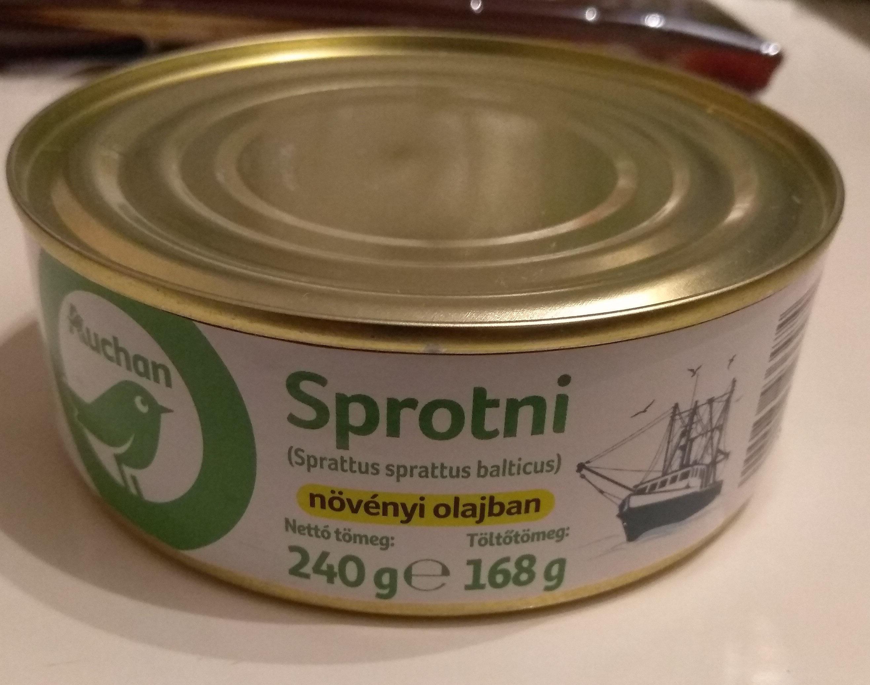 Sprotni növényi olajban - Produit - hu