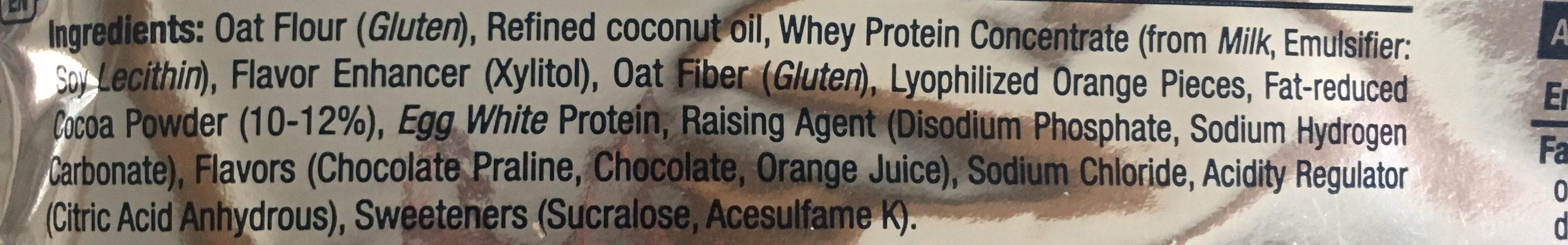 PROTEIN MUFFIN - Ingrediënten