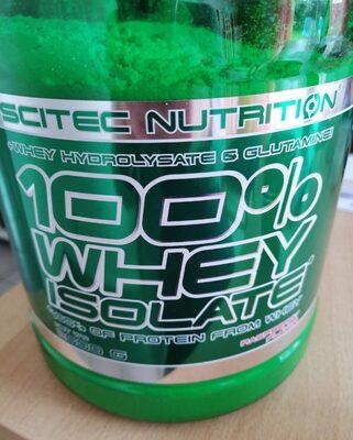 100 whey isolate - Produit - fr