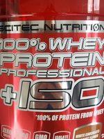 100% Whey Protein Professional +ISO - Produit - fr