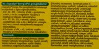 Supradyn Energia Plus - Ingredients - hu