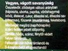 Vegyes, vágott savanyúság - Ingrédients - hu