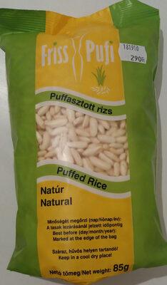 Puffasztott rizs - Product