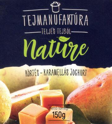 Tejmanufaktúra Nature körtés - karamellás joghurt - Prodotto - hu