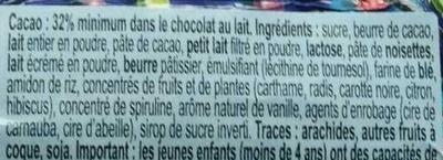 Lapin en chocolat Klapperhase - Ingrédients