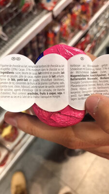 smarties mini - Ingrediënten - fr