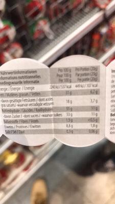 smarties mini - Voedingswaarden - fr