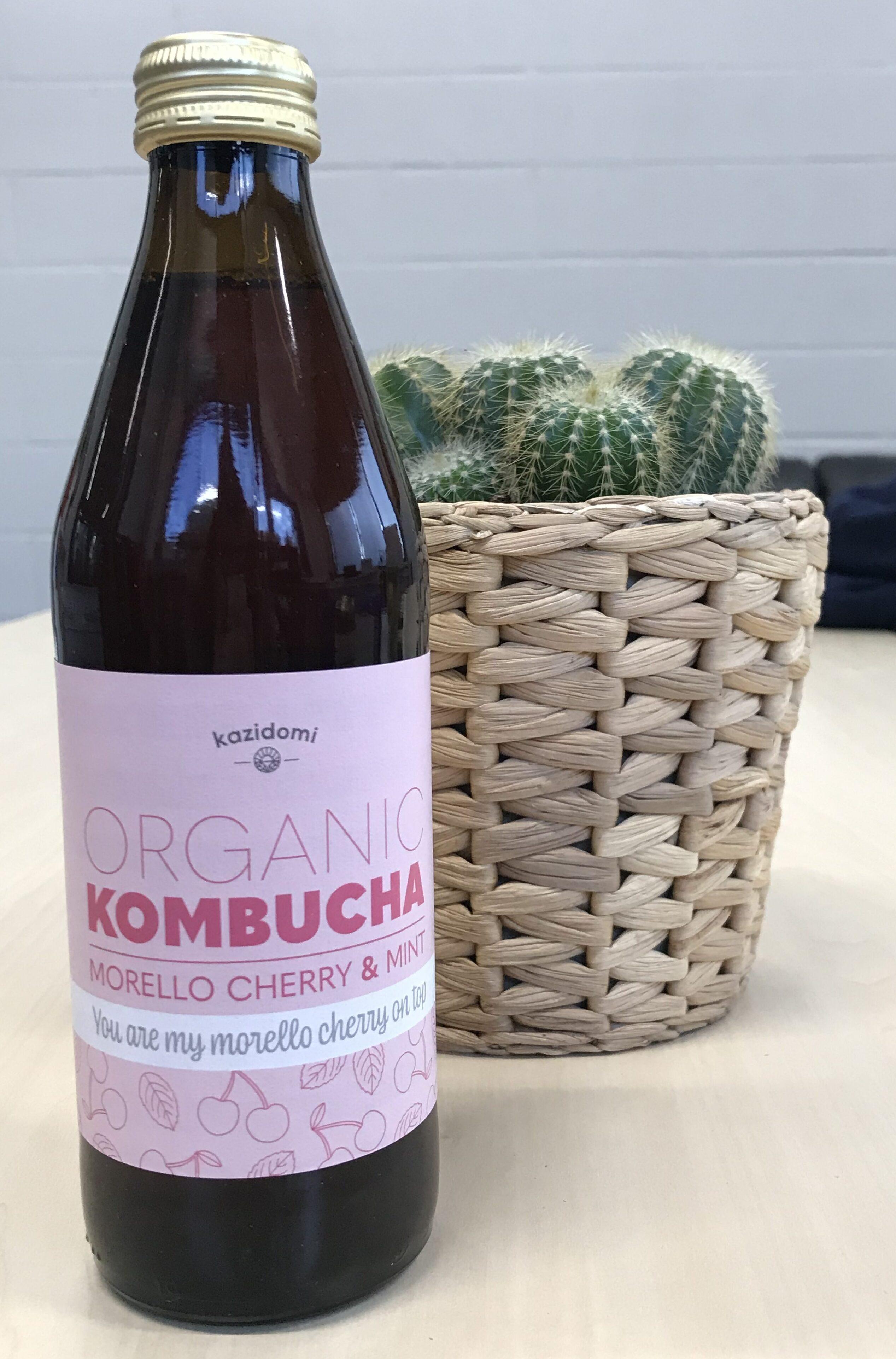 Kombucha Griottes & Menthe Bio Kazidomi - Instruction de recyclage et/ou information d'emballage - fr