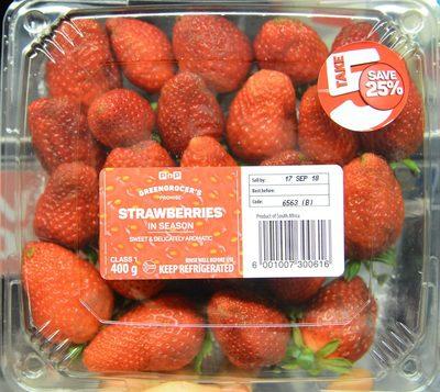 Strawberries in Season - Product - en