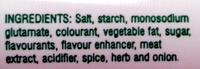 Aromat seasoning - Ingrediënten