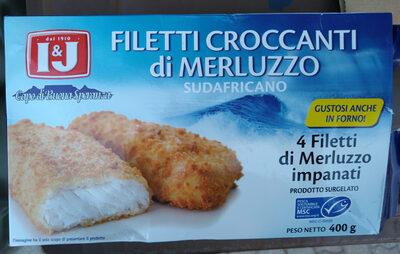 filetti croccanti di merluzzo sudafricano - Prodotto - it
