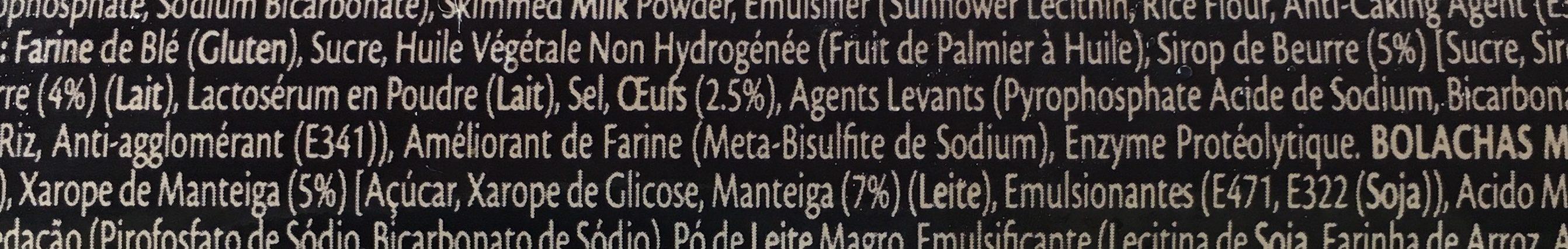 Blue Label Marie Biscuits - Ingredients - fr