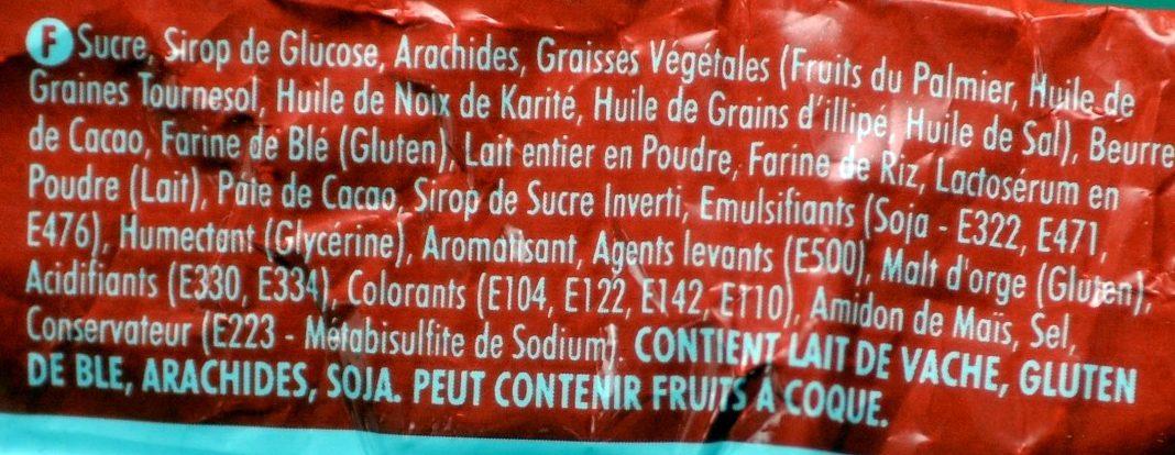 Laduma Lunch Bar Camury - Ingredients