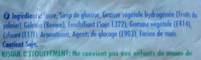 Endearmints Original - Ingredients