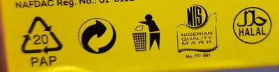Yellow label tea - Instruction de recyclage et/ou information d'emballage - fr