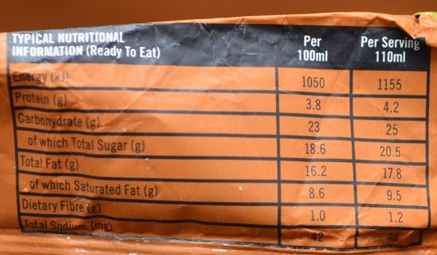 Almond - Nutrition facts