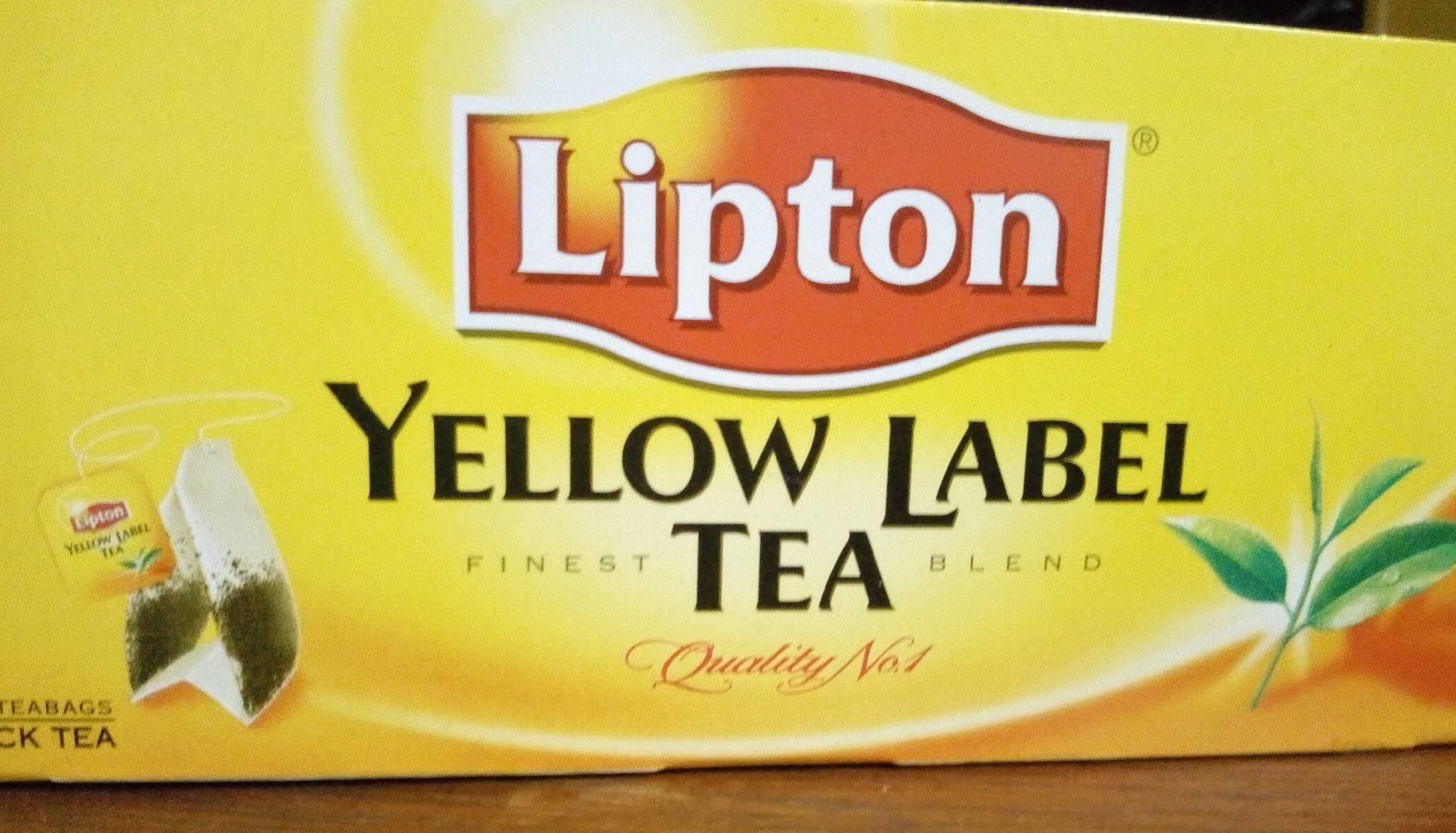 Lipton Yellow Label Tea - Produit - fr