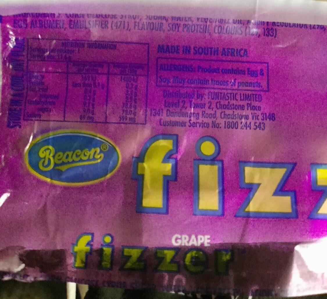 Fizzer - Ingredients - en