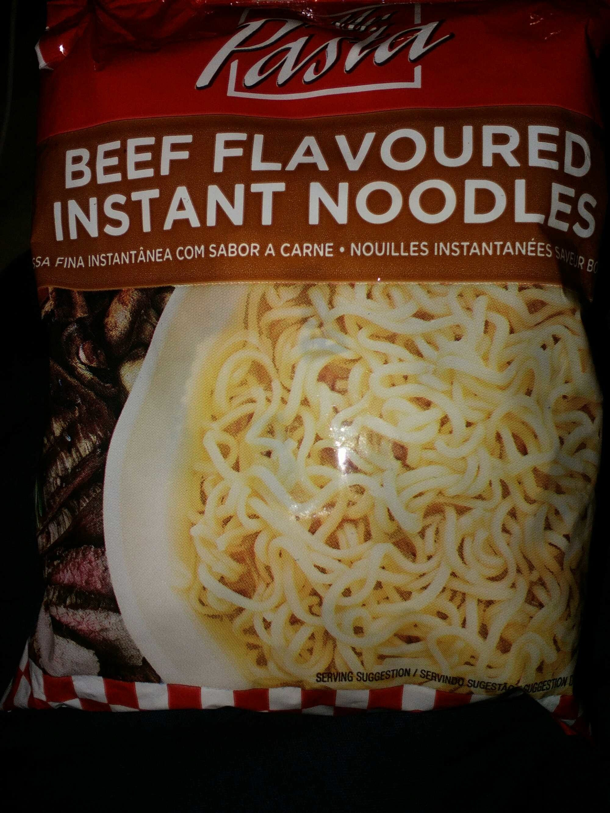 Beef Flavoured Instant Noodles - Product