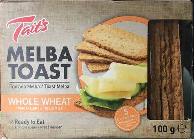 Melba toast - Produit