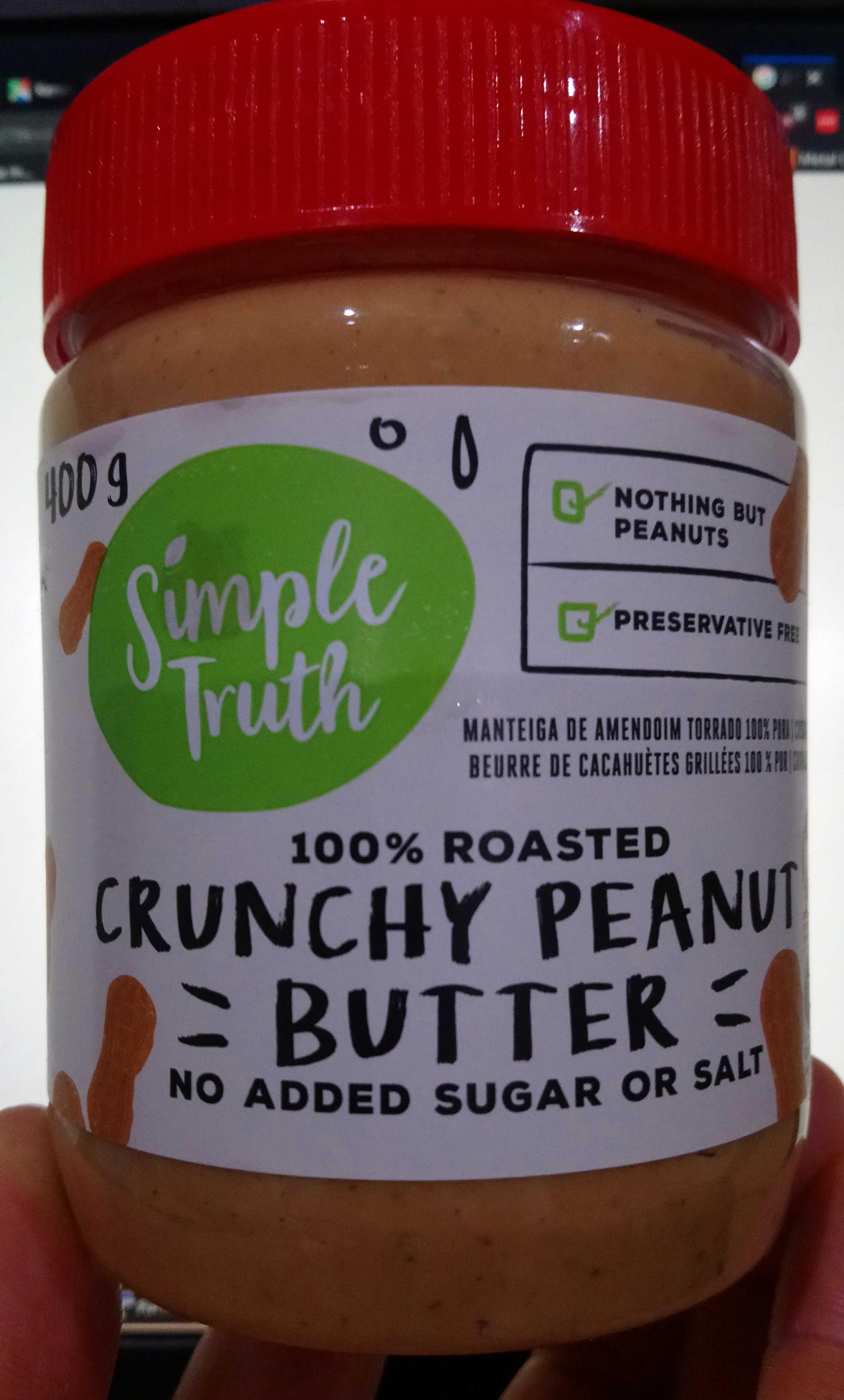 Crunchy peanut butter - Prodotto - en