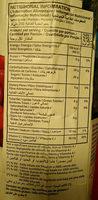 Ceres Red Grape 100% Fruit Juice - Voedingswaarden - fr