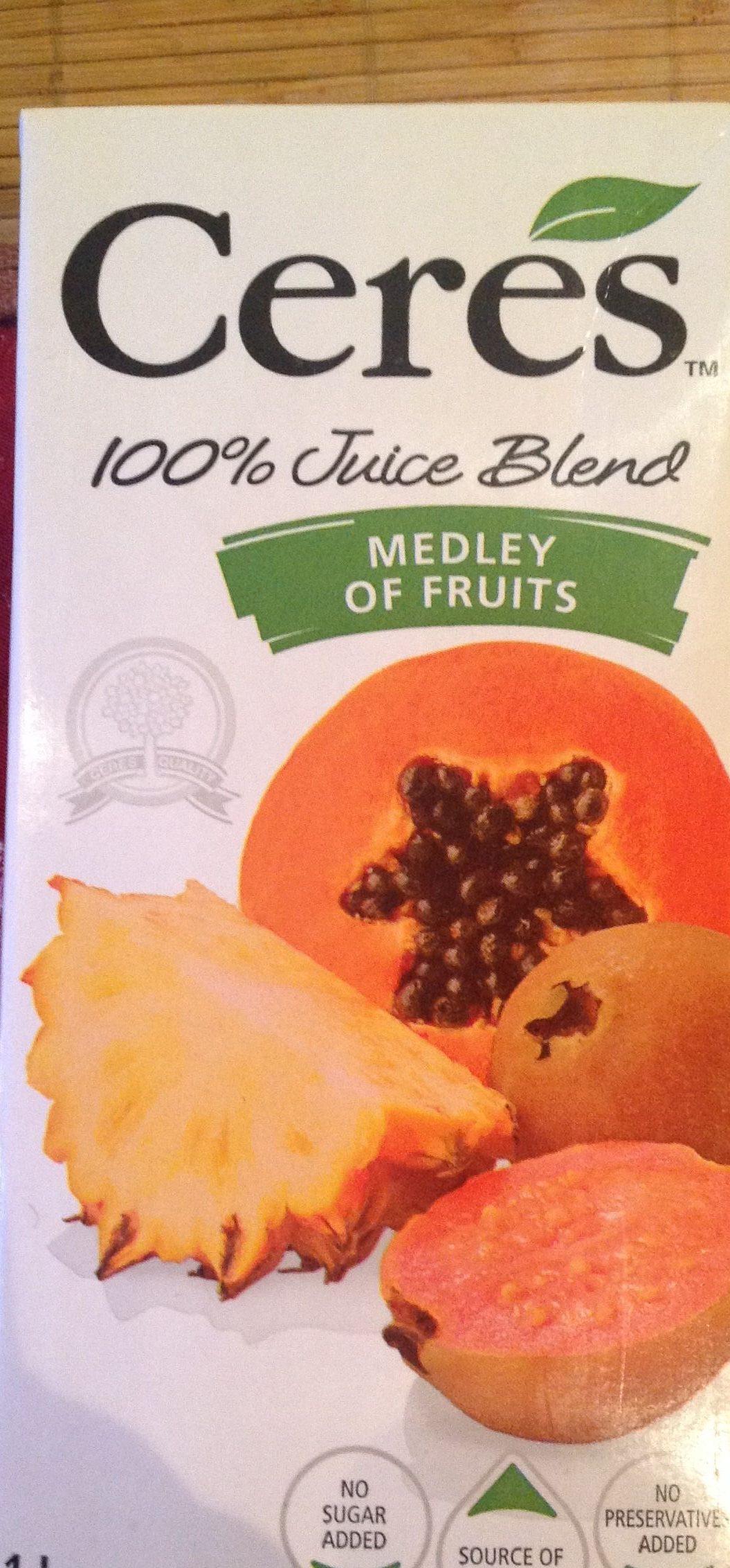 Panaché de fruits - Product - fr