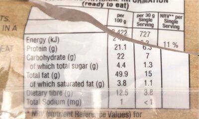 Almonds - Informations nutritionnelles - fr