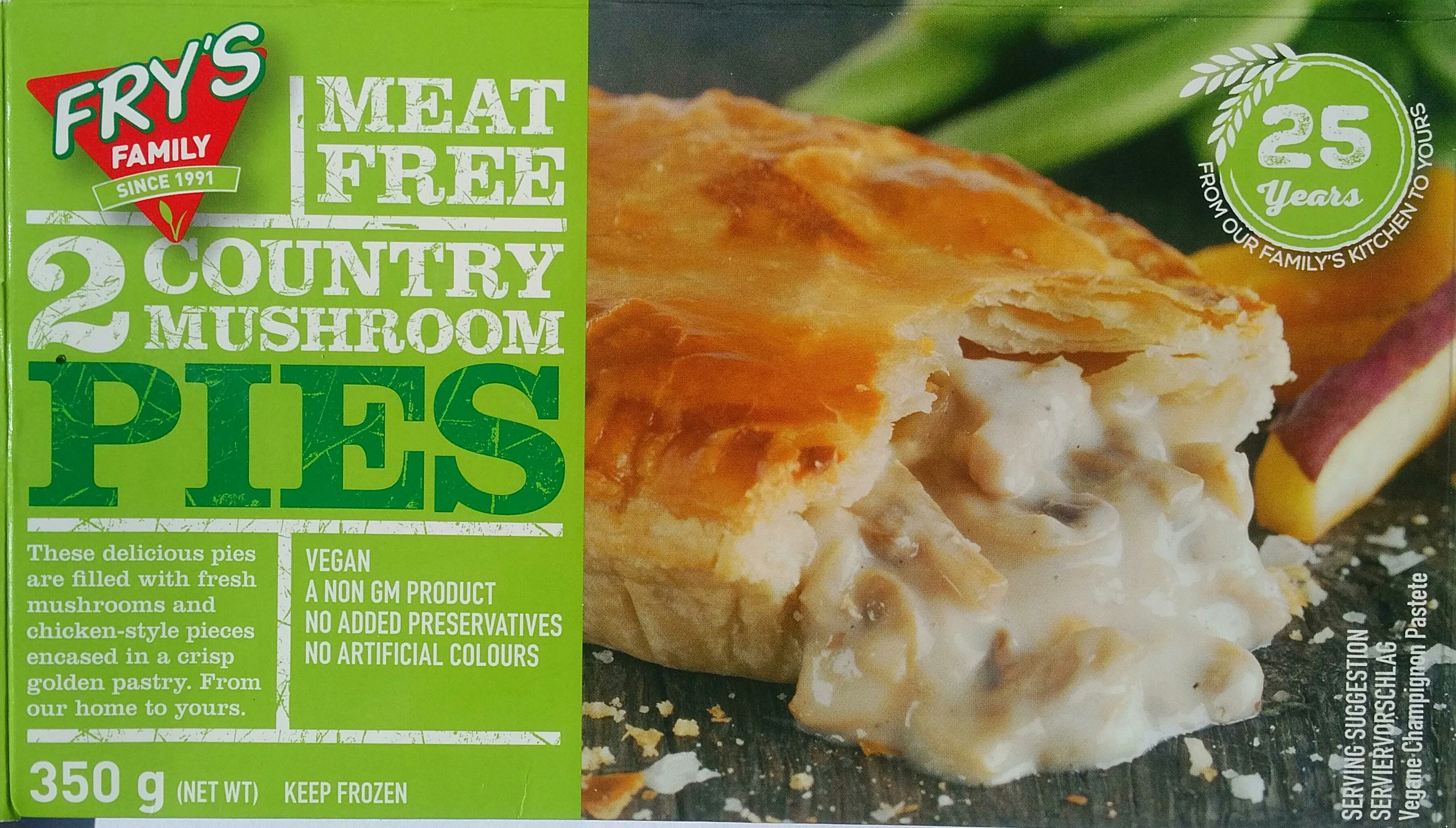 Fry's Meet Free Pies - Product