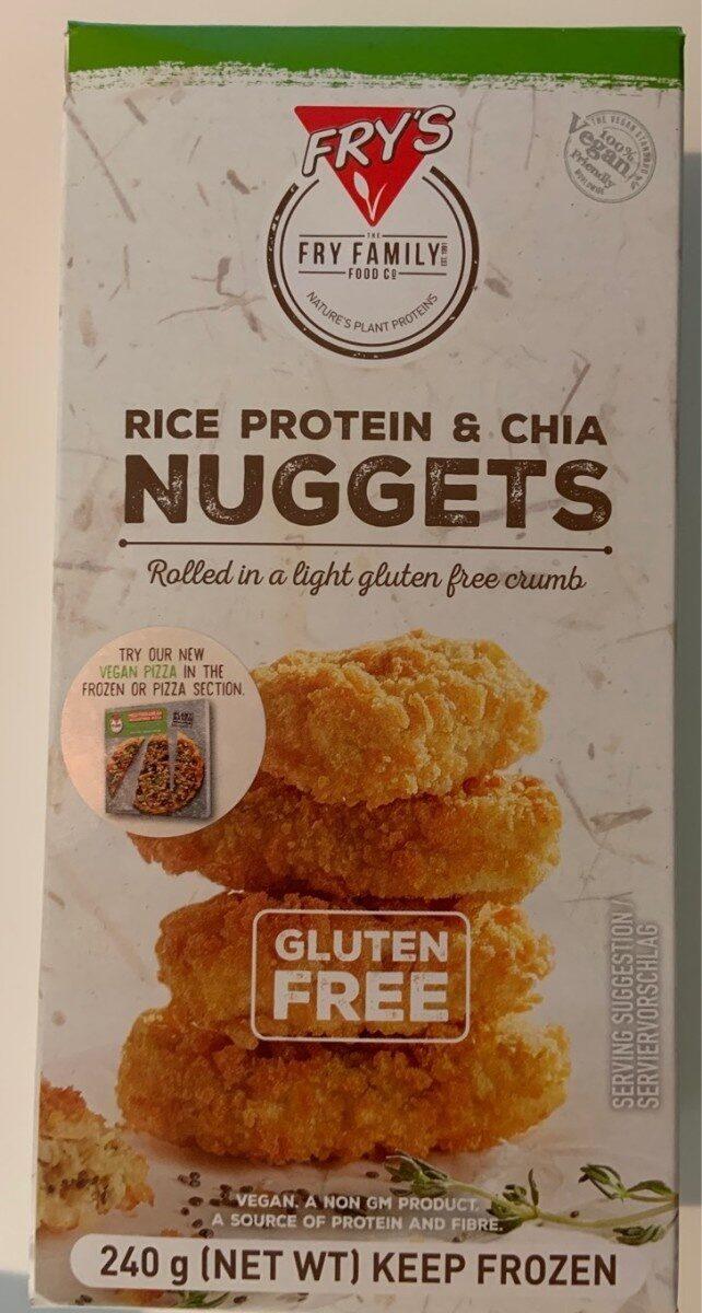 Rice Protein & Chia Nuggets - Produit - en