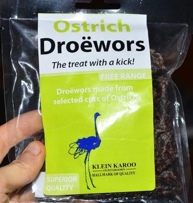 Ostrich Dröewors - Product