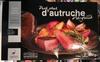 Pavé steak d'autruche pré-grillé - Produit
