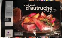 Pavé steak d'autruche pré-grillé - Produit - fr