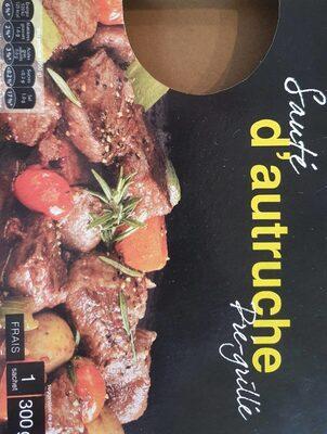 Sauté d'autruche Pré grillé - Product - nl