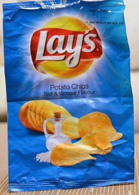 Potato Chips Salt & Vinegar Flavour - Product - fr