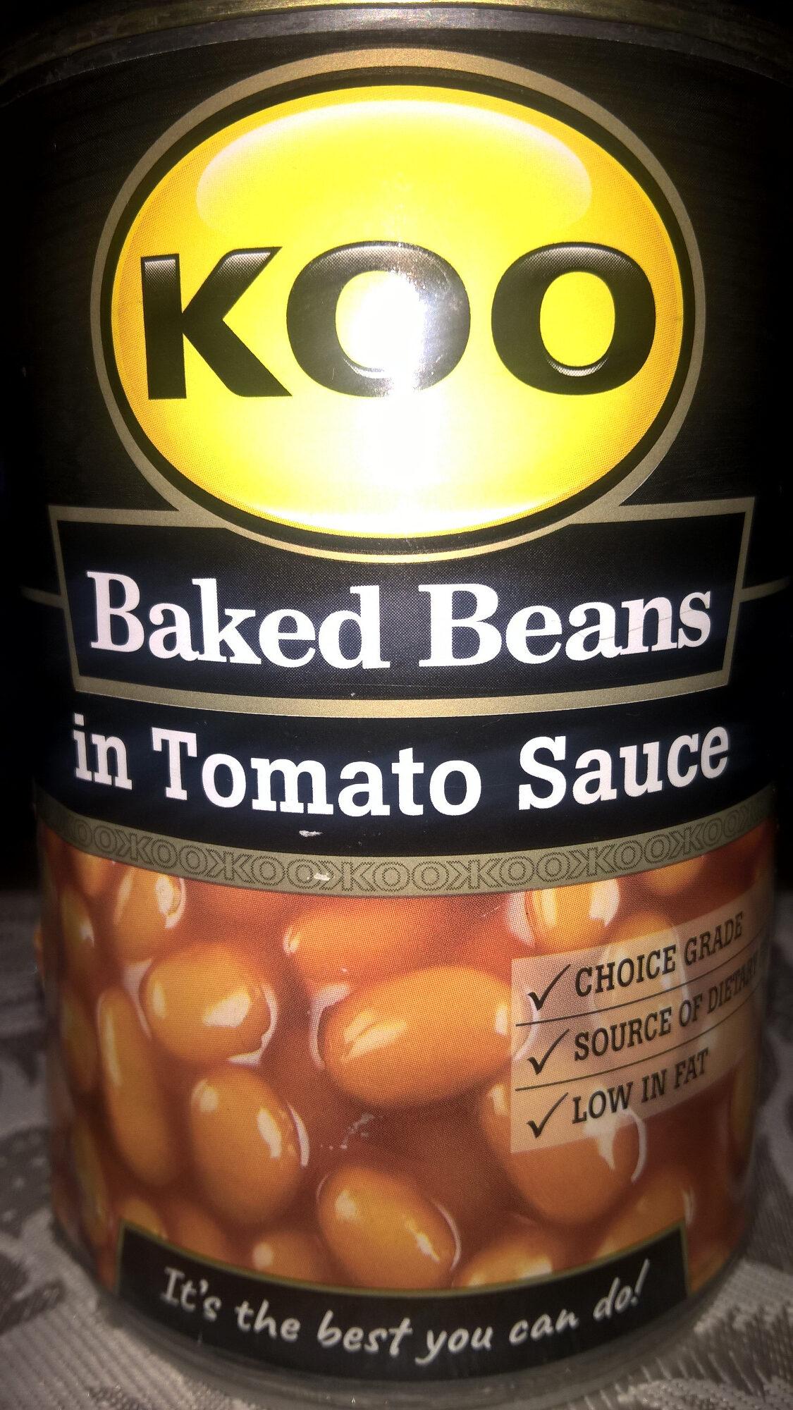 KOO Baked Beans in Tomato Sauce - Product - en