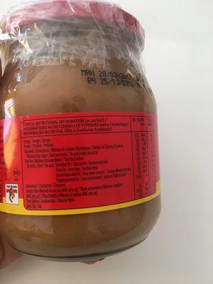 Black Cat Smooth Peanut Butter 400gr 400 GR - Ingrediënten