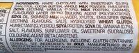 Banans Waffle bar - Ingredients - en
