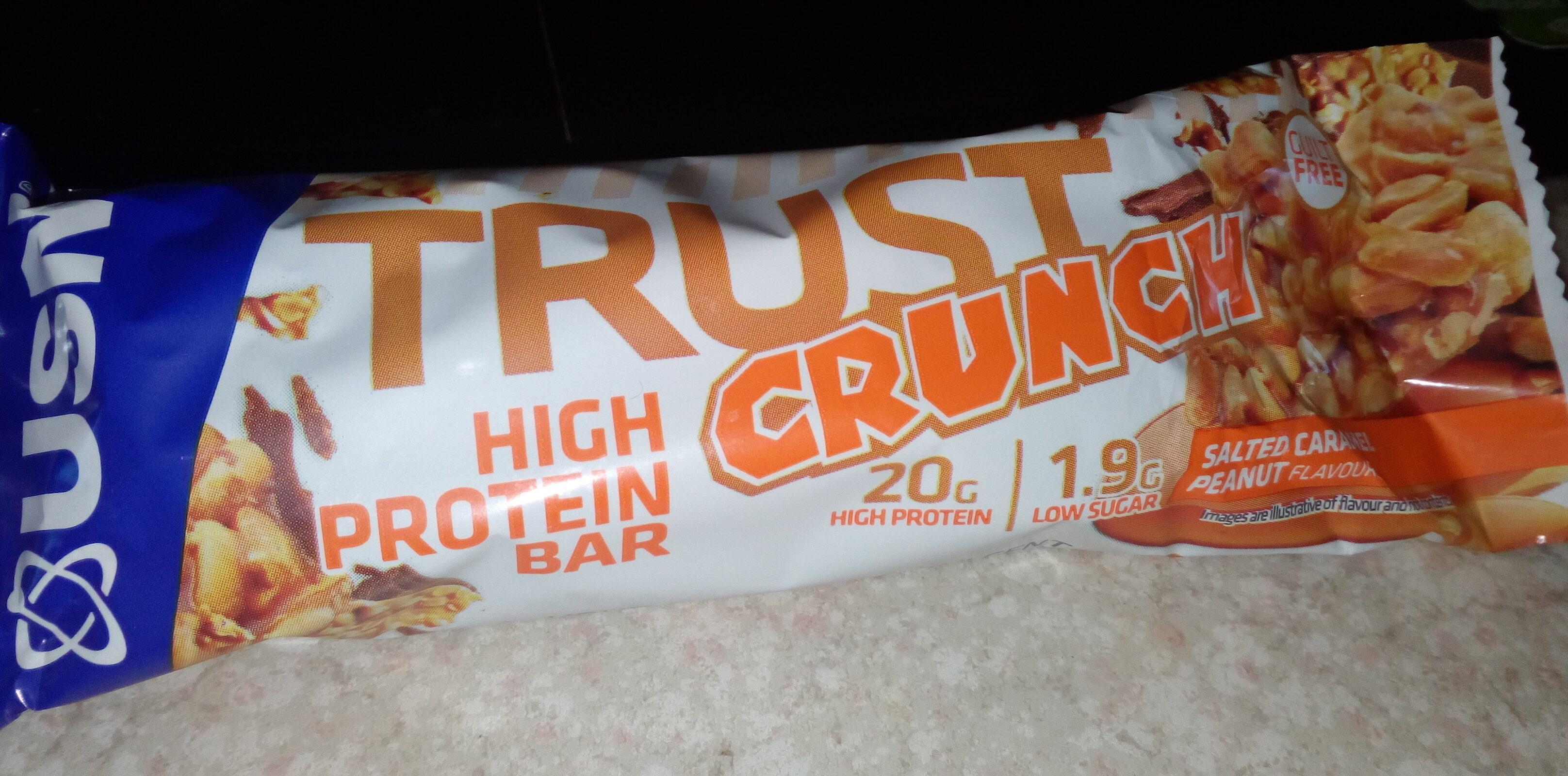 Trust crunch cacahuètes caramel salé - Produkt