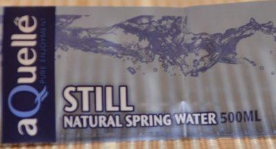 Still Natural Spring Water - Product - fr