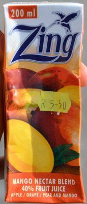 Mango Nectar Blend 40% Fruit Juice - Product - en