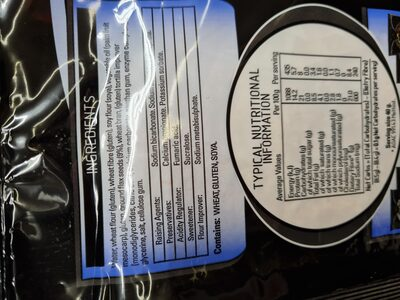 tortilla wrap - Ingredienti - en