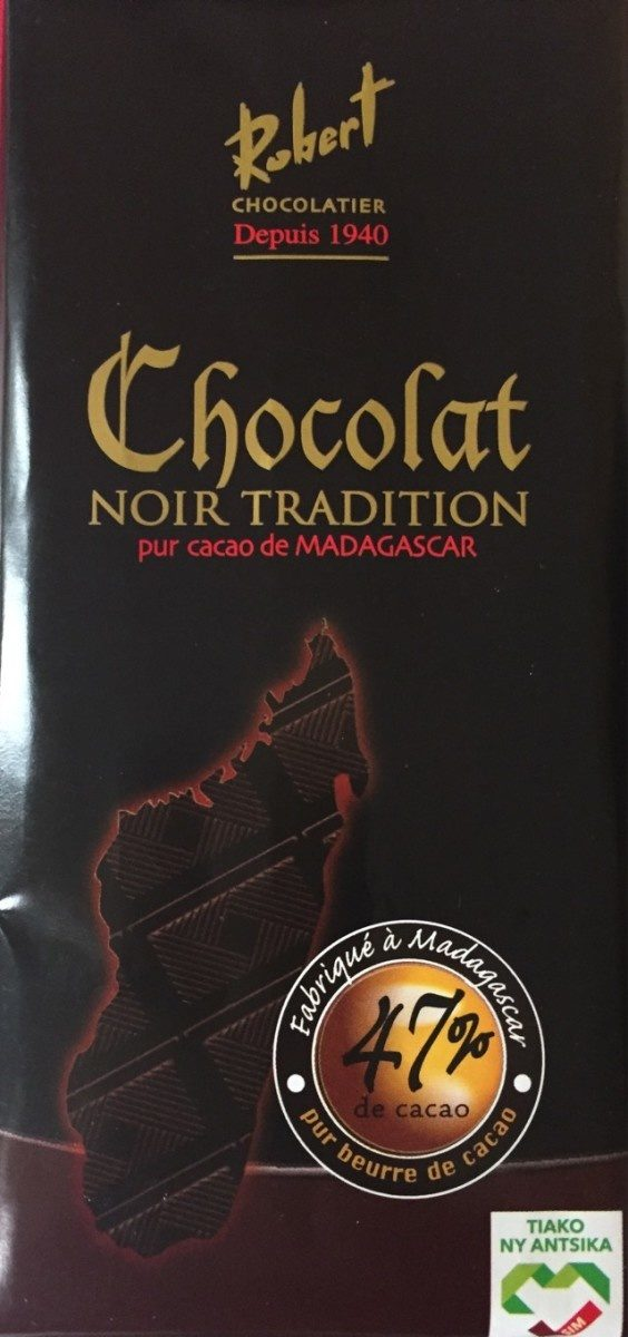 Chocolat robert noir tradition - Product - fr