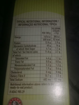 PROVITA - Ingrediënten