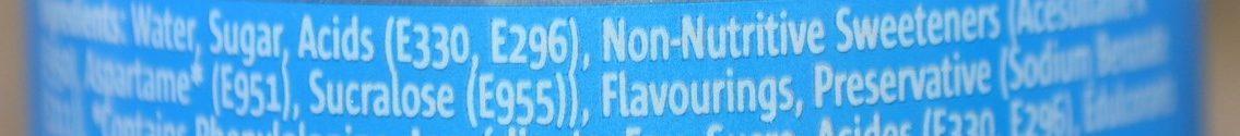 Lemonade - Ingredients