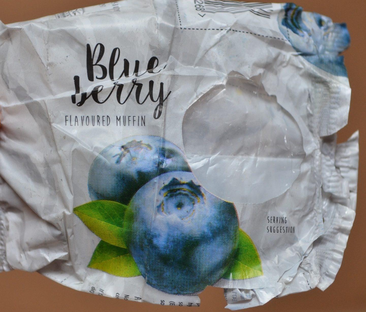 Blueberry Flavoured Muffin - Produit - fr